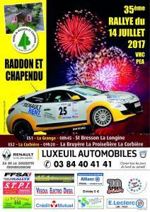 Rallye 14 juillet 2017