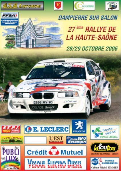 Rallye haute saone