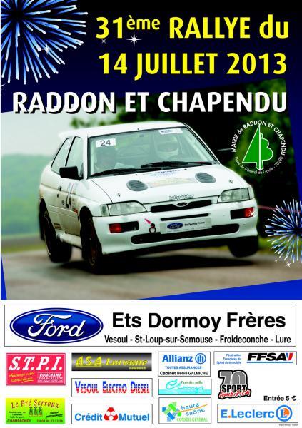 Rallye 14 juillet