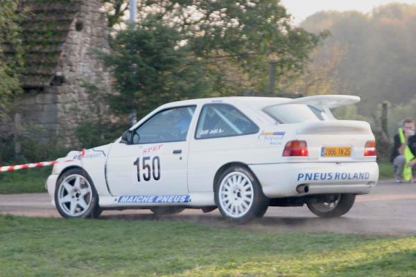 Joël Juif vainqueur du rallye de Haute-Saône en 2005